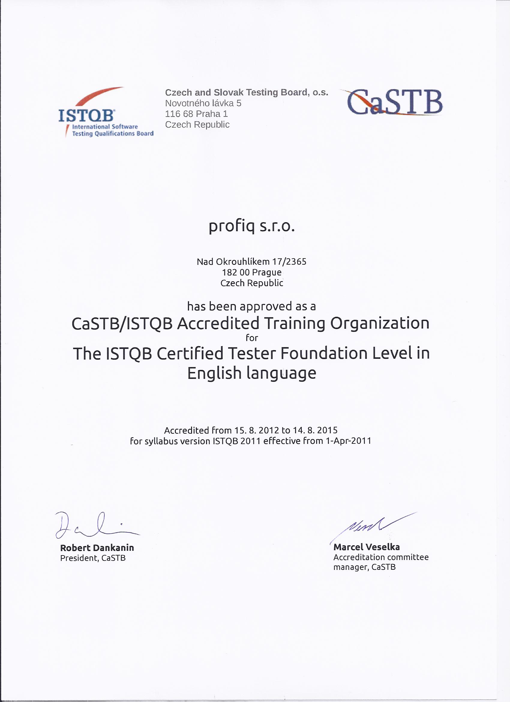 Profiq becomes an istqb accredited training provider with xflitez Images